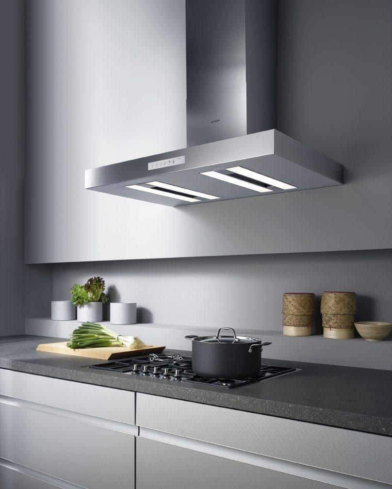 Campana extractora de aluminio im genes y fotos - Campanas de cocina modernas ...