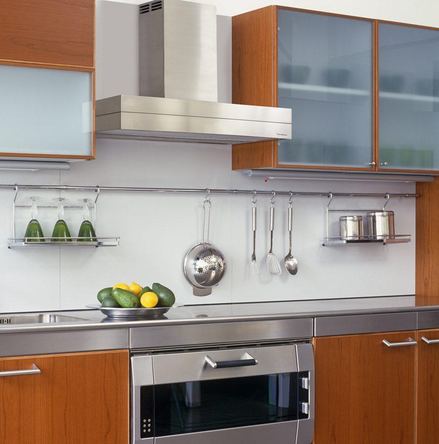 Campanas extractoras decorativas im genes y fotos - Como limpiar la campana de la cocina ...
