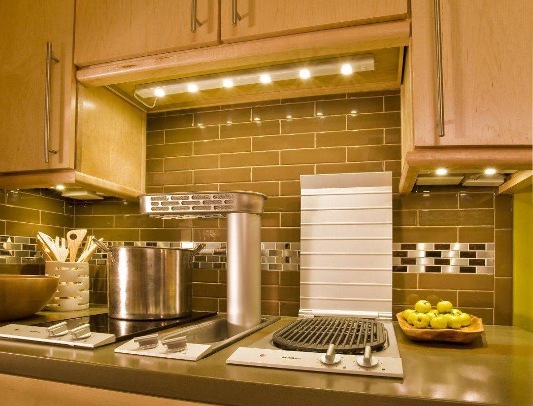 Cocina bien iluminada im genes y fotos - Iluminacion de cocinas modernas ...