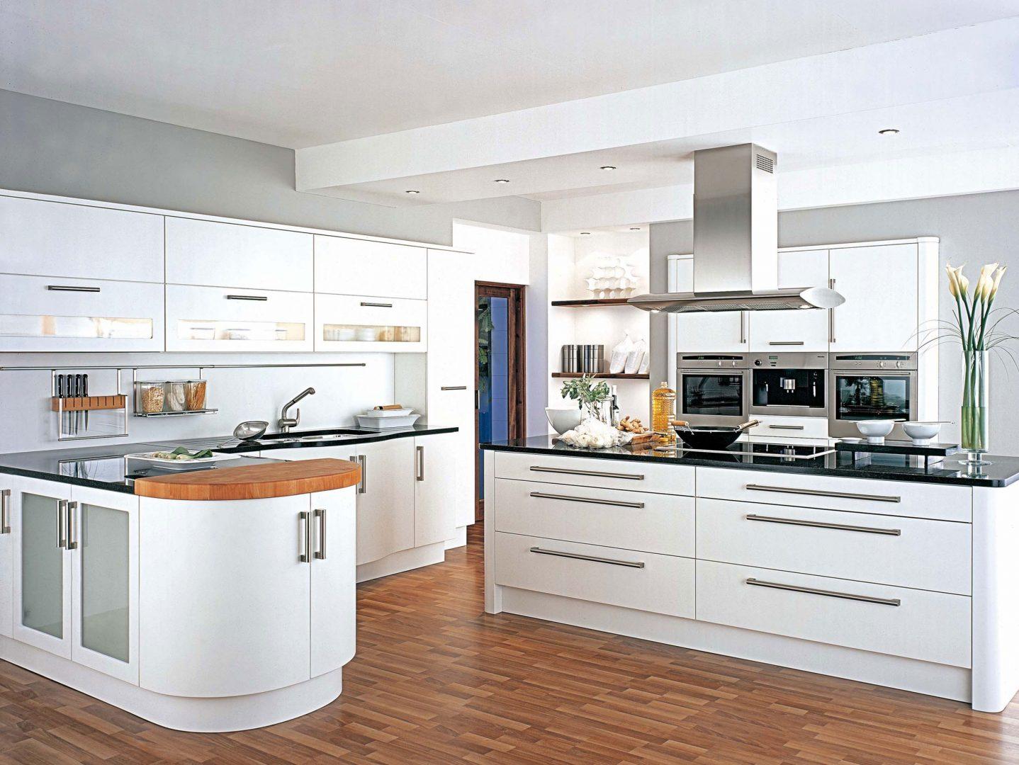 Decoración de cocinas blancas