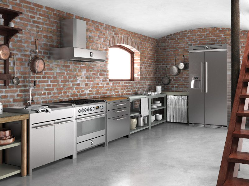Galer a de im genes materiales para los muebles de cocina - Materiales para cocinas ...