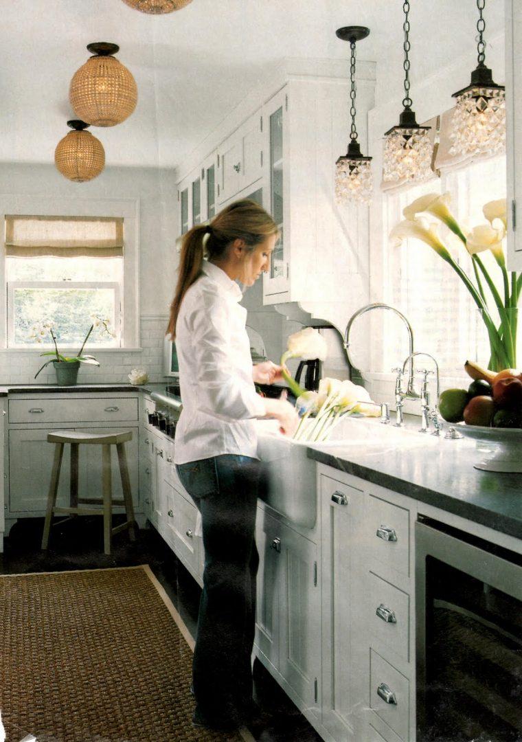 Cocina con iluminación natural :: Imágenes y fotos