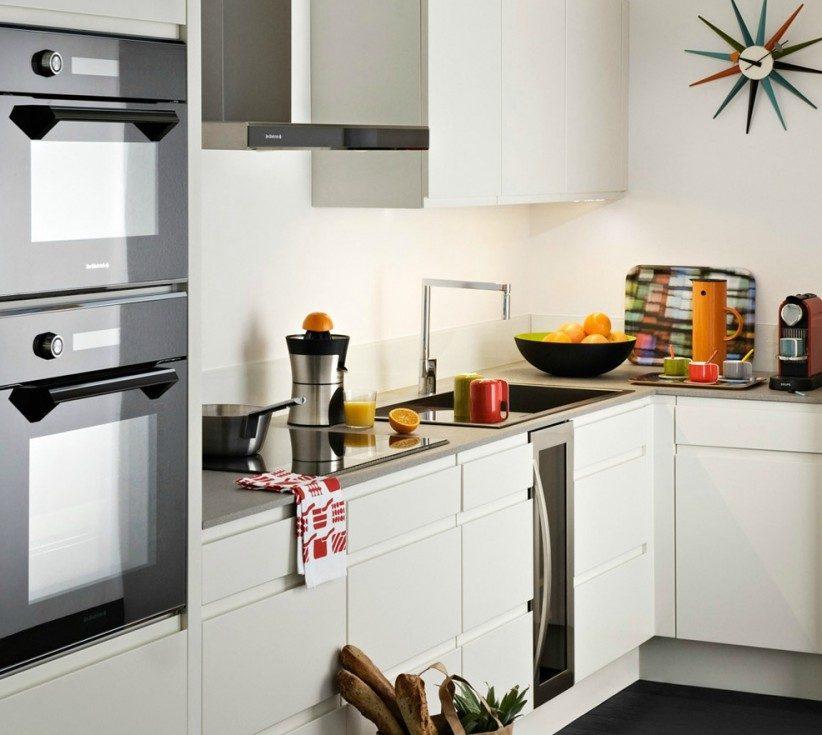 Cocina con muebles modernos im genes y fotos - Muebles de cocina pequenas ...