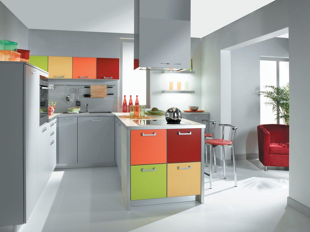 c mo elegir el color de la cocina On cocinas de color