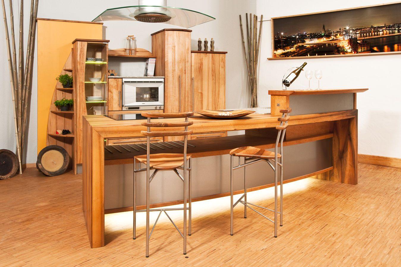 Materiales para los muebles de cocina - Cocinas de madera modernas ...