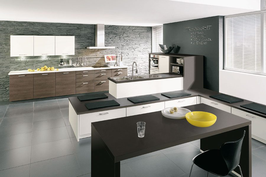 Cocina de materiales naturales im genes y fotos - Cocinas americanas minimalistas ...
