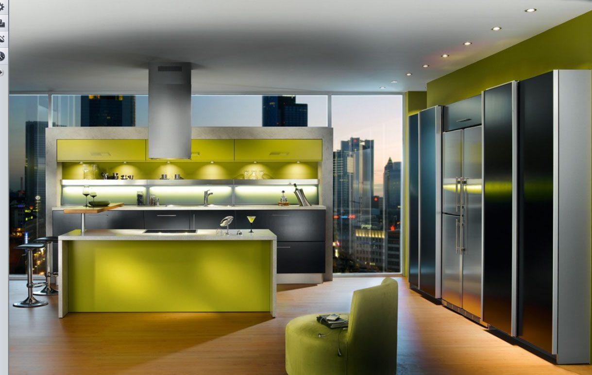 Galer a de im genes c mo elegir el color de la cocina for Colores de muebles de cocina