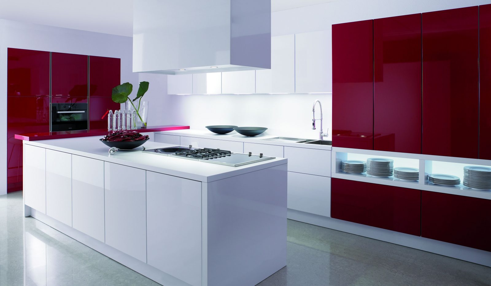 Materiales para los muebles de cocina for Muebles de cocina tipo isla