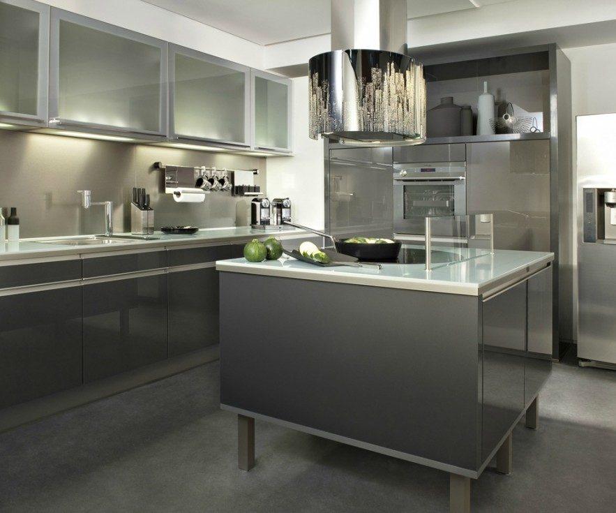 Cocina moderna sin tiradores im genes y fotos - Tiradores de muebles de cocina ...