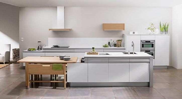 Cocinas modernas im genes y fotos for Enchapes para cocina modernos