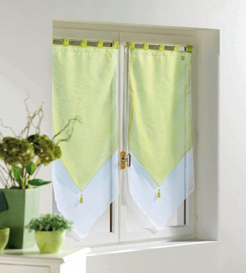 Cortinas verdes de cocina im genes y fotos for Decoracion cortinas cocina