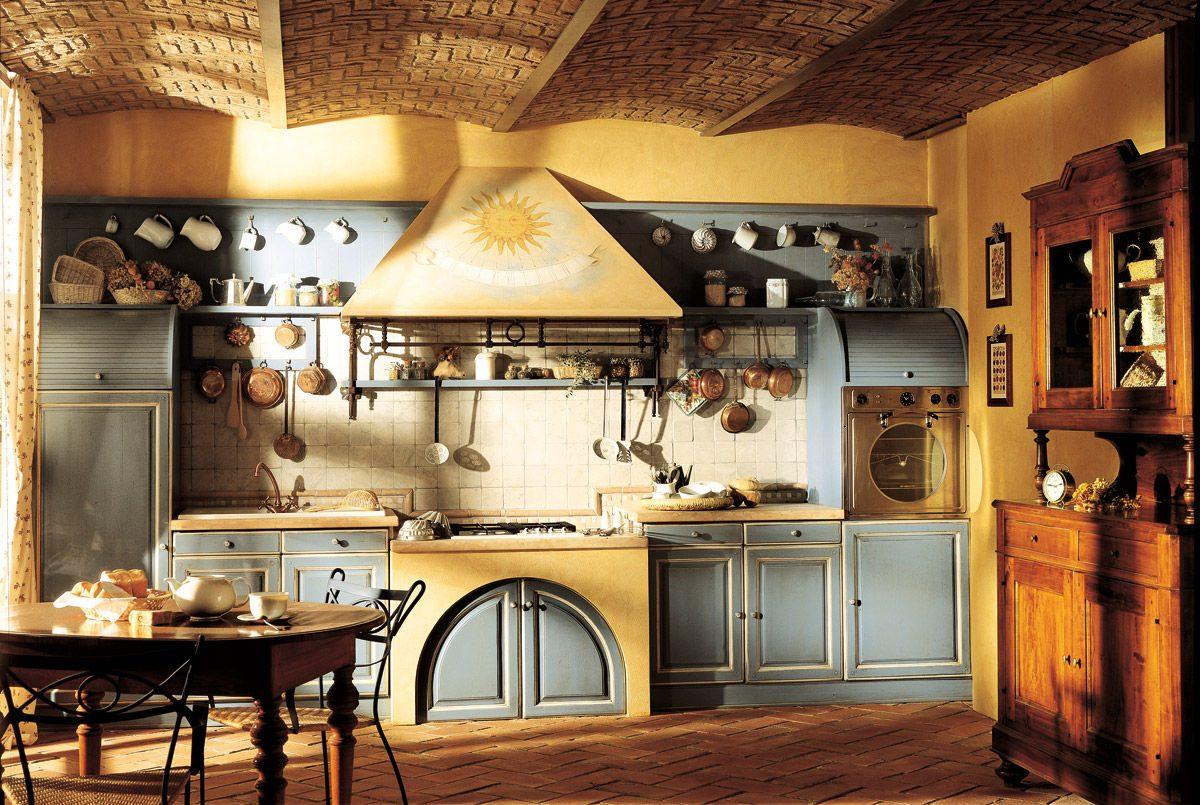 Decoraci n de una cocina r stica im genes y fotos for Disenos de cocinas economicas