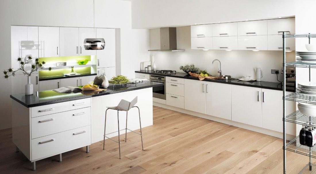 Decorar cocinas blancas :: Imágenes y fotos