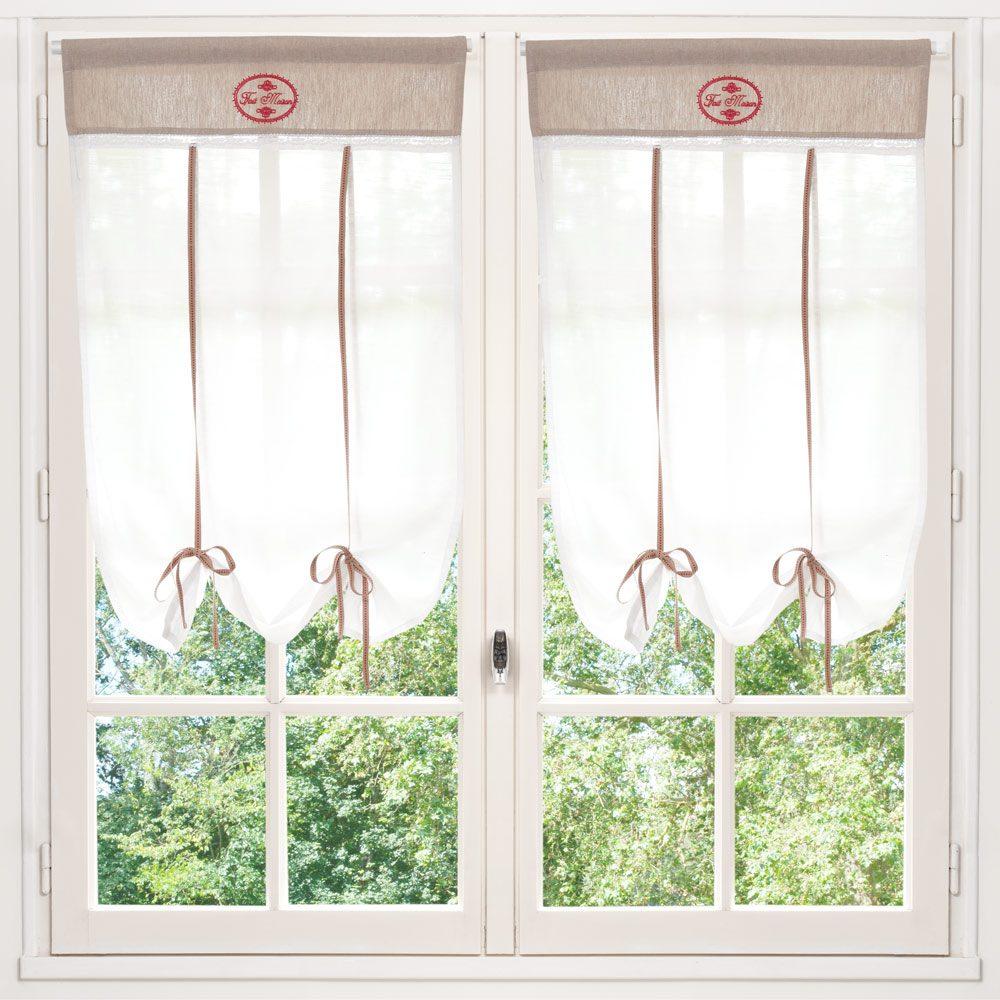 Elegantes cortinas de cocina im genes y fotos for Cortinas para cocina rustica