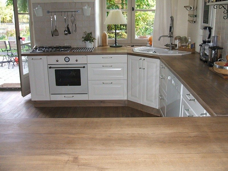 Encimeras de cocina de madera im genes y fotos - Colores de granito para encimeras de cocina ...