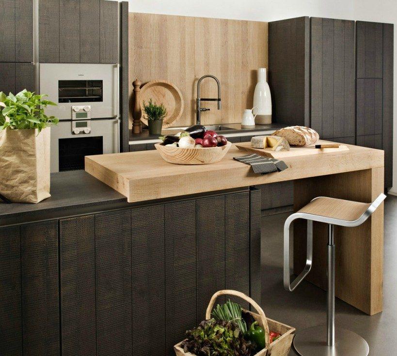 isla de cocina de madera im genes y fotos