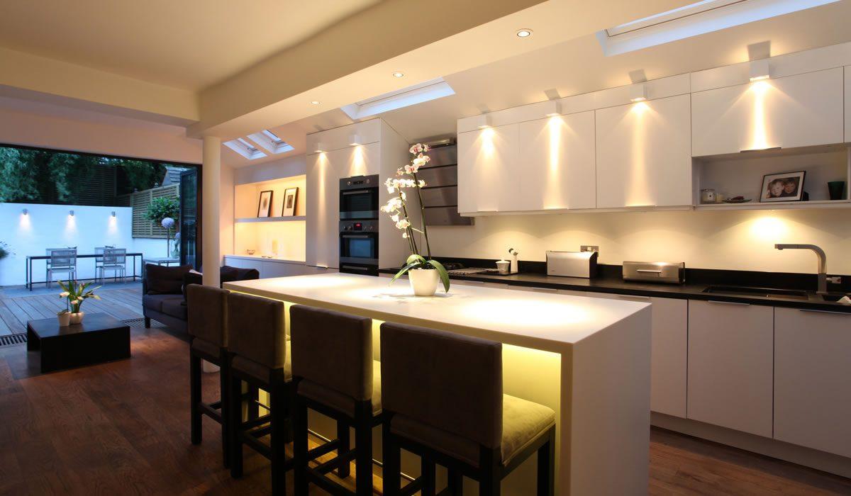 Consejos para la iluminación de cocinas