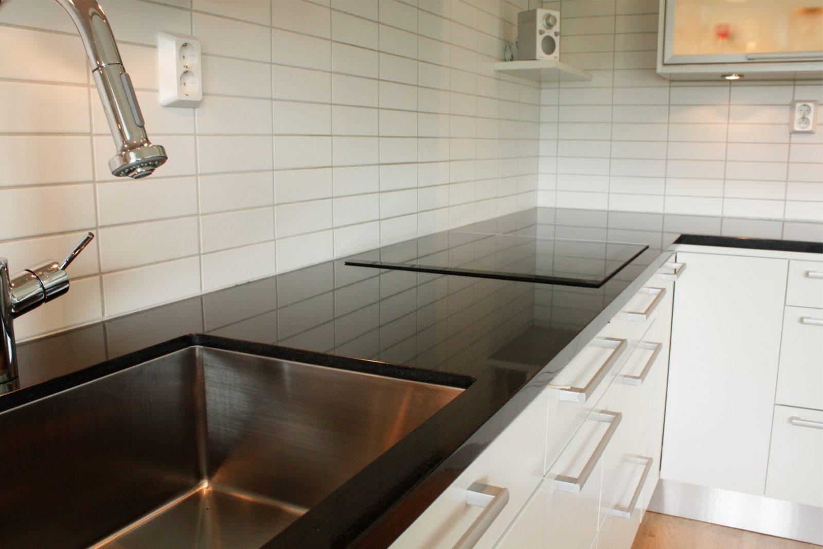 M rmol negro para la encimera im genes y fotos - Colores de granito para encimeras de cocina ...