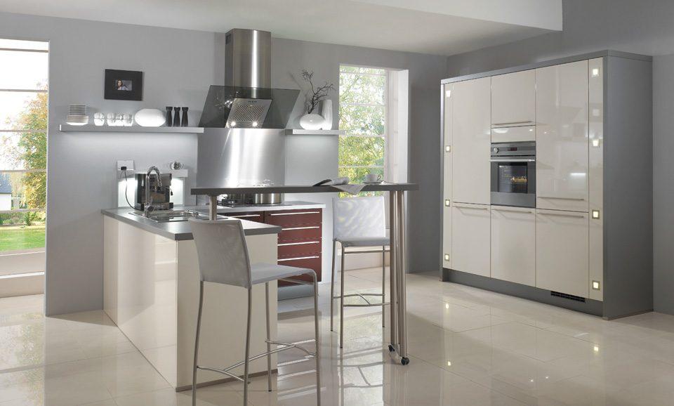 Mobiliario de cocina con luz im genes y fotos for Mobiliario para cocina