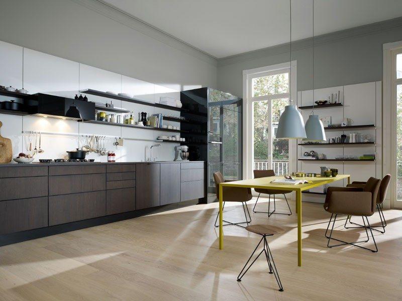 Mobiliario de cocina sin tiradores :: Imágenes y fotos