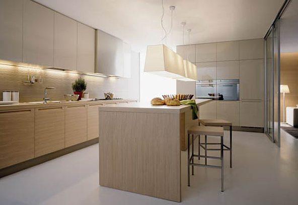 Iluminacion De Cocinas Modernas Buscar Con Google - Iluminacion Para ...
