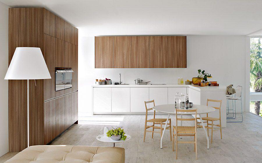 Muebles de madera sin tiradores :: Imágenes y fotos