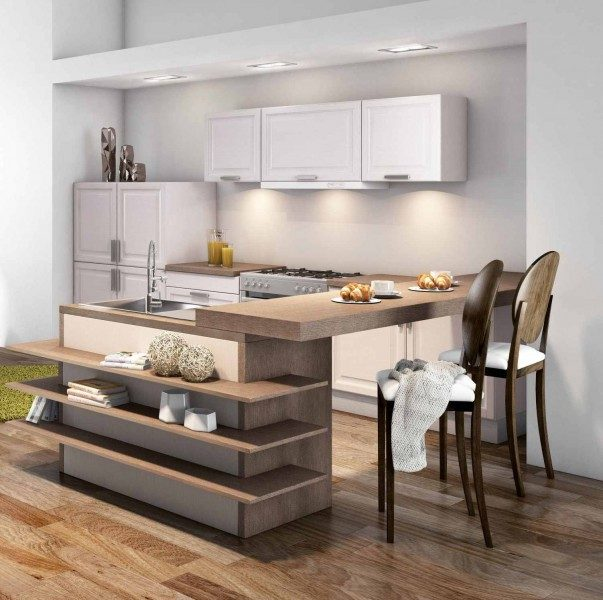 Muebles especiales para cocinas peque as im genes y fotos for Ideas para remodelar una cocina pequena
