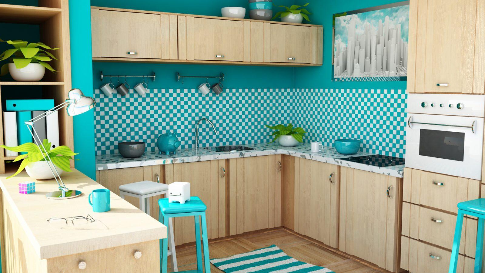 Azulejos Decorativos Para Cocinas Cmo Aprovechar Los Azulejos  # Muebles De Cocina Kiwi