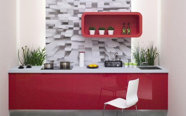 Papel Pintado De Cocina Abstracto Imagenes Y Fotos - Papeles-pintados-para-cocinas