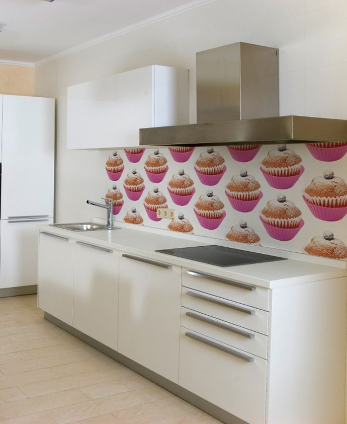 Galer a de im genes papeles pintados para la cocina - Papel para forrar muebles de cocina ...