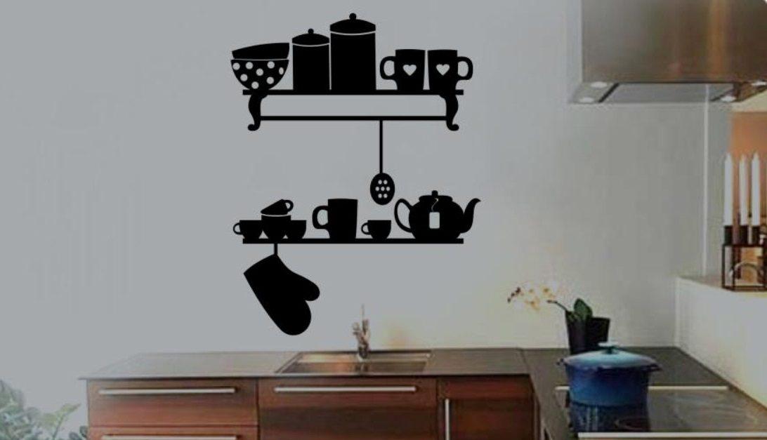 Galer a de im genes vinilos decorativos para la cocina - Pegatinas para cocinas ...