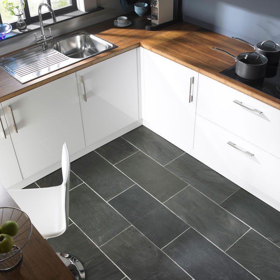 Suelos cocinas modernas materiales de construcci n para - Suelo de cocina ...