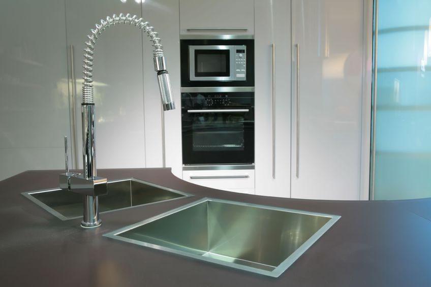 Tipos de grifos de cocina - Grifos de cocina de pared ...