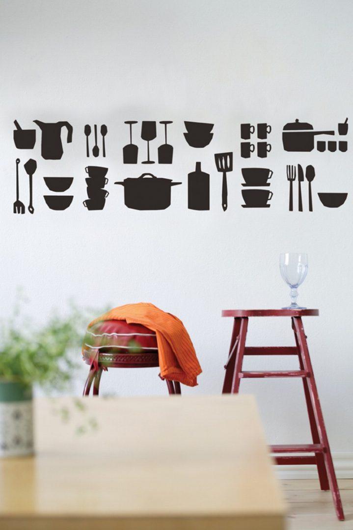 Galer a de im genes vinilos decorativos para la cocina - Cocinas con vinilos ...