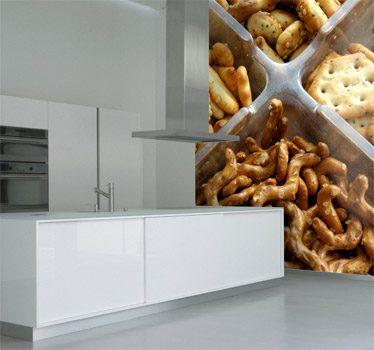 vinilos para las paredes de la cocina