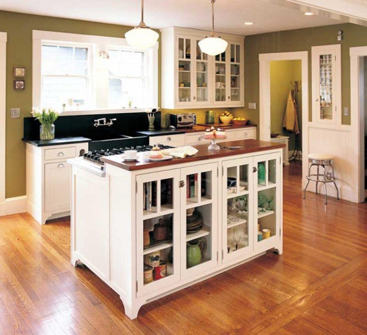 10x10 Kitchen Layout Ideas: Zona De Cocción En La Isla Central :: Imágenes Y Fotos