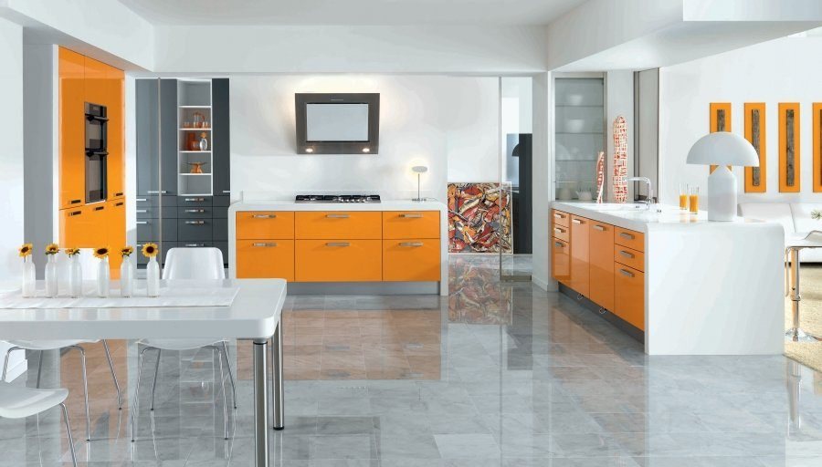 Cocina Arcos Sunset Orange de Schmidt