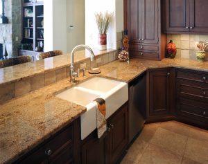 Materiales para los muebles de cocina - Materiales de encimeras de cocina ...