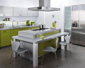 Mesas de cocina - Cocinas con mesas ...