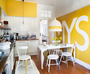 Papeles pintados para la cocina